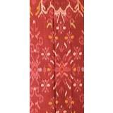 WASTRA ETNIK DESIGN Endek Kenyeri [Wastra188] - Orange - Setelan Songket Wanita