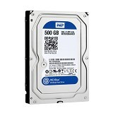 WD Blue 500GB [WD5000AAKX] (Merchant) - Hdd Internal Sata 3.5 Inch