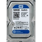 WD Blue 500GB [WD5000AZLX] - Hdd Internal Sata 3.5 Inch