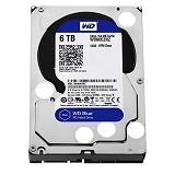 WD Blue 6TB [WD60EZRZ] - Hdd Internal Sata 3.5 Inch