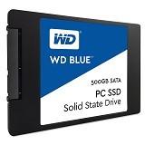 WD Blue SSD SATA 500GB [WDS500G1B0A] - Ssd Sata 2.5 Inch
