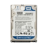 WD Scorpio Blue 500GB - Hdd Internal Sata 2.5 Inch