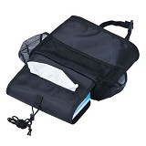WEEKEIGHT Tas Travel Korean Aluminium Food Bag [WK-AFB-B] - black