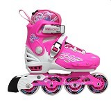 WEIQIU Sepatu Roda Inline Angel Size M - Pink - Inline Skate