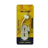 WELLCOMM Kabel Data iPhone 4 1.5m - White - Cable / Connector Usb