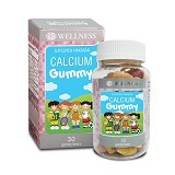 WELLNESS Calcium Gummy Kids 30 Gummies - Suplement Peninggi Badan