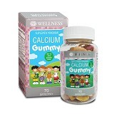 WELLNESS Calcium Gummy Kids 70 Gummies - Suplement Peninggi Badan