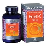 WELLNESS Excell - C 500mg 60 Tabs