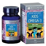 WELLNESS Kids Omega 3 30 Softgels - Suplement Penambah Daya Tahan Tubuh