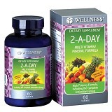 WELLNESS Multivitamin/Mineral 2-A-DAY 60 Tabs