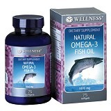 WELLNESS Omega 3 1000mg 75 Softgels