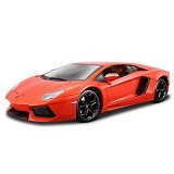 WELLY Diecast Lamborghini Aventador LP7004 - Orange (Merchant) - Die Cast