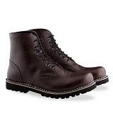 WETAN Sepatu Boots Pria Kartanegara1 Size 46 - Brown - Dress Boots Pria