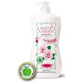 WHITE GARDEN Shower Cream Pink Rose 1100ml - Sabun Mandi