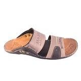 WIN LEATHER Sandal Selop Kasual Pria Kulit Sapi Asli Size 42 [FTP S-02] - Sandal Casual Pria