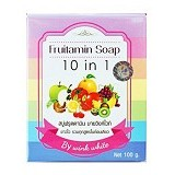 WINK WHITE Fruitamin Soap 10 in 1 - Sabun Wajah