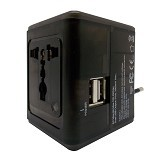 WON Travel Adapter Charger [T268] - Hitam - Universal Charger Kit