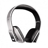 WOOWI Hero Headphones Folding Bluetooth - Silver - Headset Bluetooth