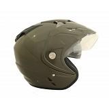 WTO Helmet Impressive Double Visor Size XL - Hijau Tua