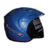 WTO Helmet Z1R Size L - Biru - Helm Motor Half Face