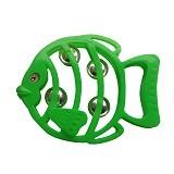 Welva Store Mainan Krincingan Model Ikan [LJ40] - Green (Merchant) - Mainan Musikal