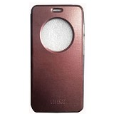 XCHANGE Flip Cover Case for Asus Zenfone 5 - Dark Brown - Casing Handphone / Case