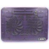 XCOOL Cooler Pad [XF2] - Purple (Merchant) - Notebook Cooler