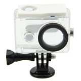 XIAOMI Waterproof Case For Xiaomi Yi - White - Camcorder Lens Cap and Housing Protection