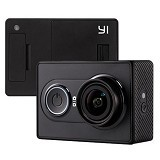 XIAOMI Yi Action Camera Black + Waterproof Case - Camcorder / Handycam Flash Memory
