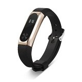 XINYUAN Replacement Band / Strap for Xiaomi Mi Band 2 OLED - Rose Gold/Black (Merchant) - Casing Smartwatch / Case
