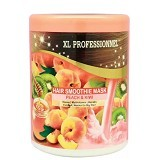 XL PROFESSIONNEL Hair Smoothie Mask Peach & Kiwi 1 kg (Merchant) - Creambath / Masker Rambut