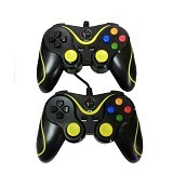 XTECH Gamepad Inferno Double - Black (Merchant) - Gaming Pad / Joypad