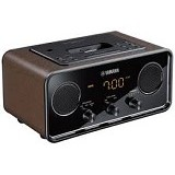 YAMAHA Docking Speaker [TSX-70] - Brown - Speaker Portable