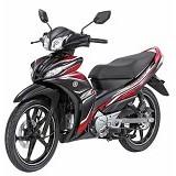 YAMAHA Jupiter Z1 CW FI Sporty Black Sepeda Motor (Merchant) - Motor Bebek