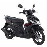 YAMAHA Mio M3 125 CW Mention Black Sepeda Motor (Merchant) - Motor Bebek