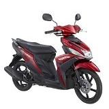 YAMAHA Mio M3 125 CW Selfie Red Sepeda Motor (Merchant) - Motor Bebek