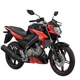YAMAHA New Vixion Advance Zeal Red Sepeda Motor (Merchant) - Motor Sport