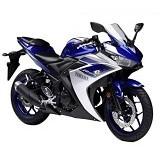YAMAHA R25 ABS Racing Blue Sepeda Motor (Merchant) - Motor Sport