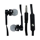 YARDEN Earphone Mega Bass Sound Only Excellent with Mic - Black - Earphone Ear Monitor / Iem