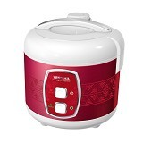 YONG MA Magic Com Stainless Tenun [YMC 501] - Red (Merchant) - Rice Cooker