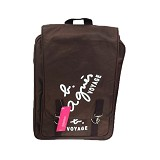 YONIKO SERBA Tas Agnis Backpack Korean Style - Coklat - Backpack Wanita