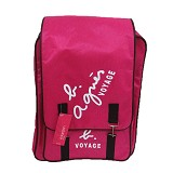YONIKO SERBA Tas Agnis Backpack Korean Style - Pink - Backpack Wanita
