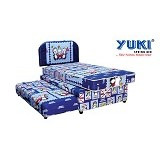 YUKI SPRINGBED Medium Comfort [3IN1-MC-BP47-120-SBLS] (Merchant)