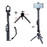 YUNTENG Selfie Monopod + Fancier Mini Tripod Holder [2288] (Merchant) - Monopod and Unipod