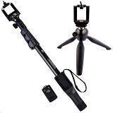 YUNTENG Tongsis Bluetooth YT-1288 with Tripod Mini 268 (Merchant)