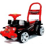 SHP Cars [HJ 634] - Black (Merchant) - Ride On and Tricycles