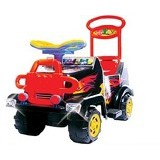 SHP Cars [SMJ 572] - Black (Merchant) - Ride On and Tricycles