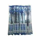 ZEBRA Isi Pen Refill Sarasa Clip JF-07- 10 PCS - Blue (Merchant) - Tinta Pulpen