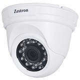 ZESTRON 1MP Dome AHD Camera [ZDA101] - Cctv Camera