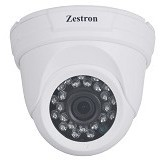 ZESTRON 2MP IR Dome Analog High Devinition Camera [ZDA201] - Cctv Camera